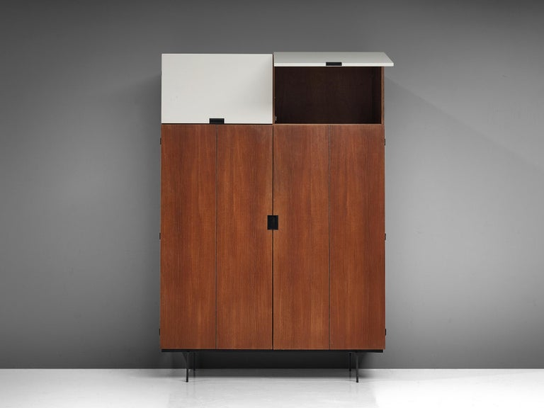 20th Century Cees Braakman Highboard for Pastoe For Sale