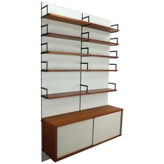 Cees Braakman Modular Wall Storage for UMS Pastoe, 1958