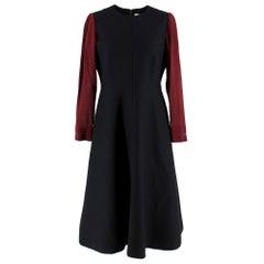 Cefinn Black & Red Midi Dress SIZE 12