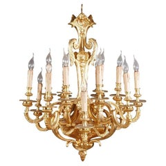 Ceiling Candelabra in Louis XIV Style