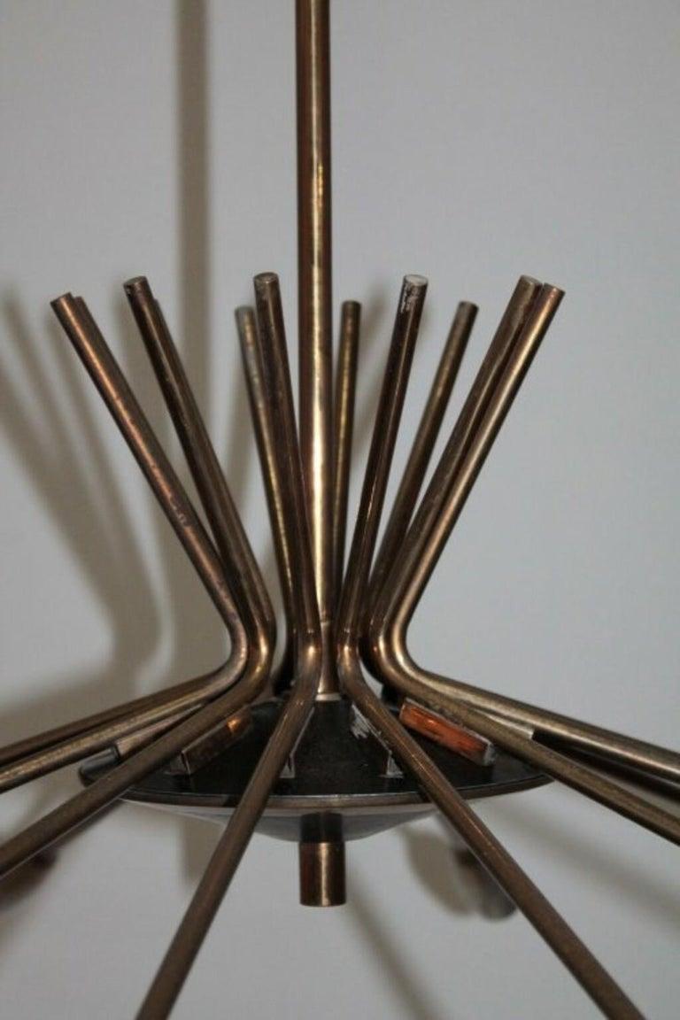 Mid-Century Modern Ceiling Lamp 1950s by Stilnovo For Sale