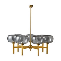 Ceiling Lamp Attributed to Hans Agne-Jakobsson, Sweden, 1960's