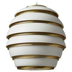 Ceiling Lamp 'Beehive' Model A332 Designed by Alvar Aalto for Valaistustyo