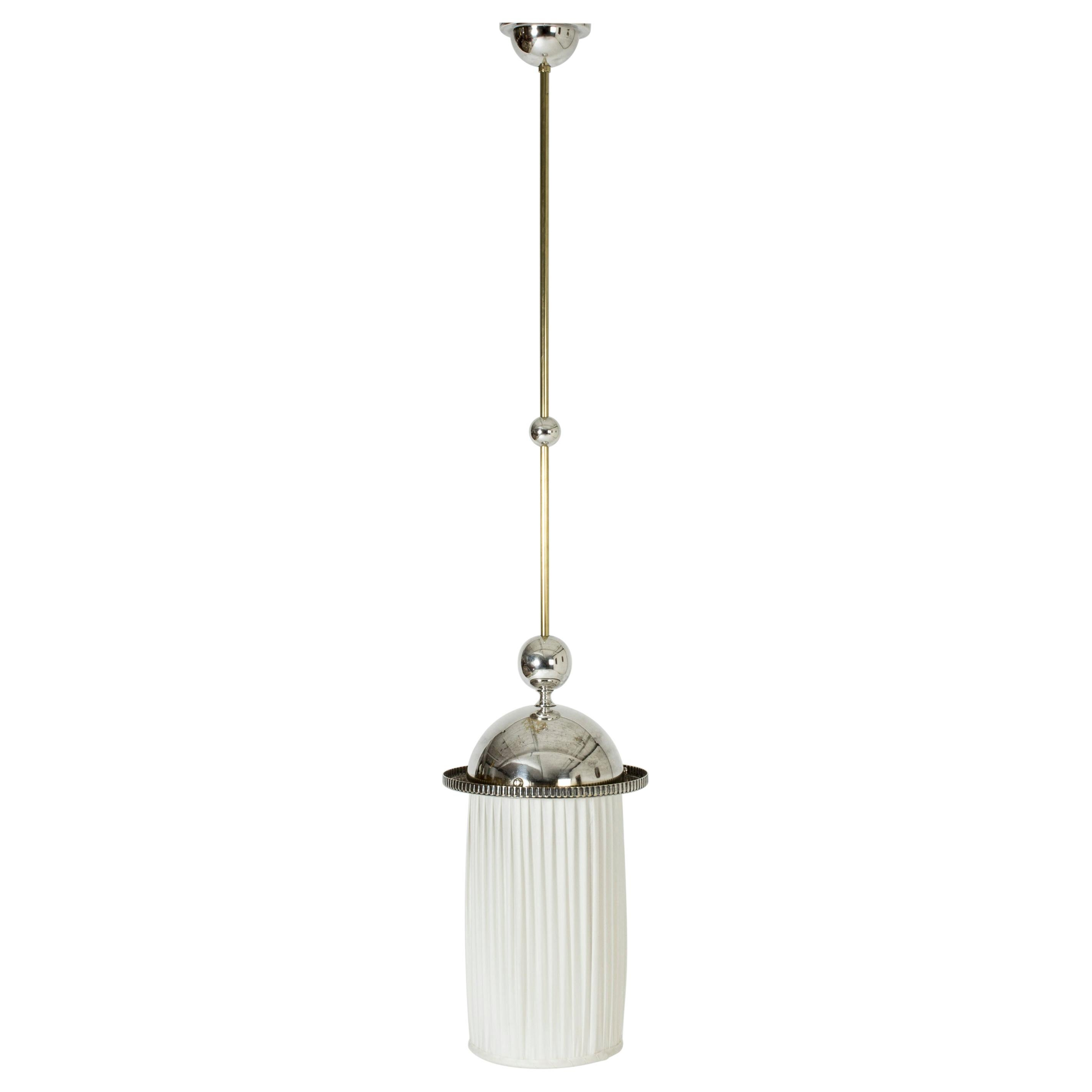 Ceiling Lamp by Elis Bergh for C.G. Hallberg, Sweden, 1920s