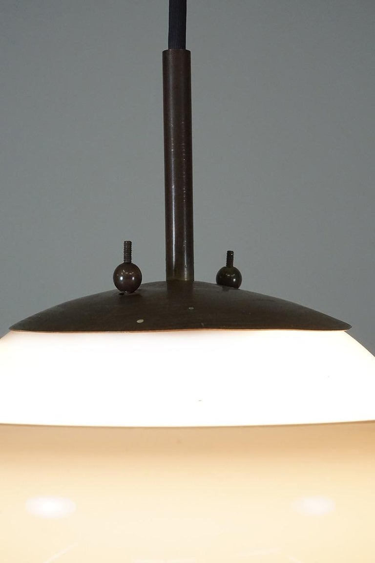 Italian Ceiling Lamp by Franco Albini, 1955 For Sale