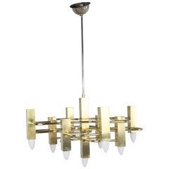 Ceiling Lamp by Gaetano Sciolari for Sciolari, 1960s