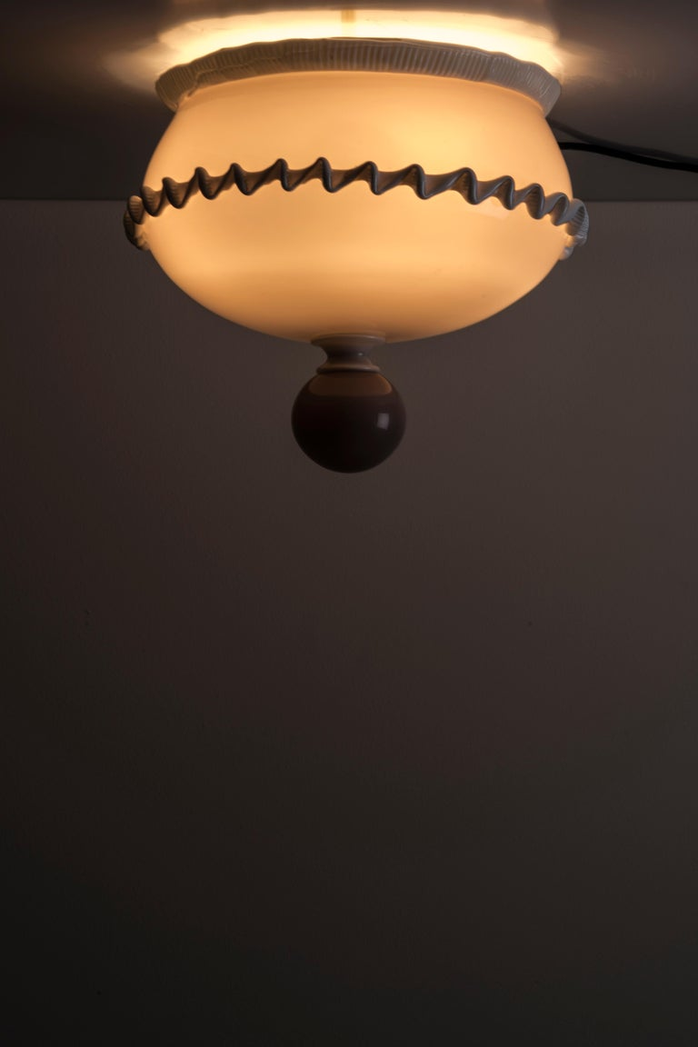 Mid-Century Modern Ceiling Lamp by Venini For Sale