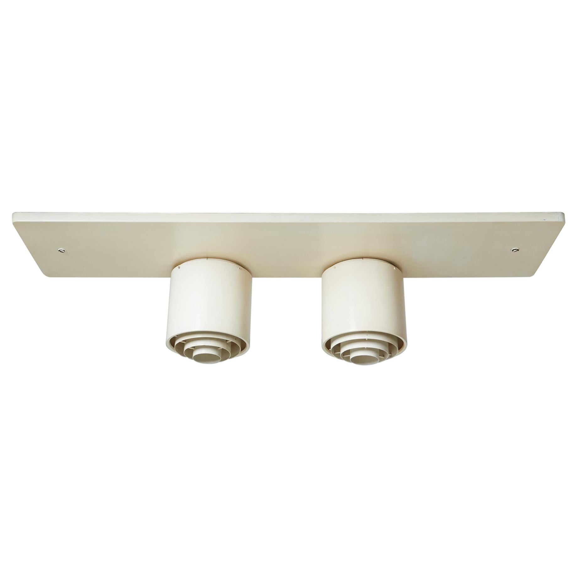 Ceiling Lamp Designed by Alvar Aalto for Idman, Finland, 1950s