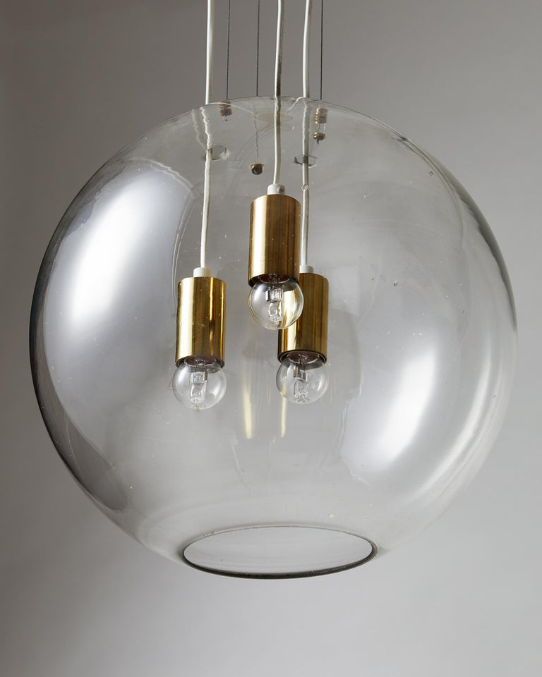 Swedish Ceiling Lamp, Designed by AOS 'Ahlgren, Olsson and Silow' for Axel Anell For Sale