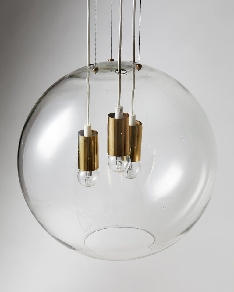 Ceiling Lamp, Designed by AOS 'Ahlgren, Olsson and Silow' for Axel Anell For Sale 2