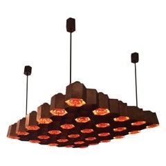 Ceiling Lamp Designed by Ilmari Tapiovaara, Finland, 1955