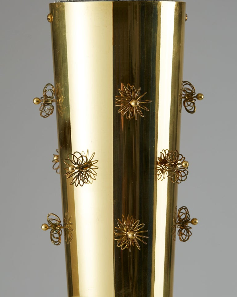 Mid-20th Century Ceiling Lamp Designed by Paavo Tynell for Taito Oy, Finland, 1950s For Sale