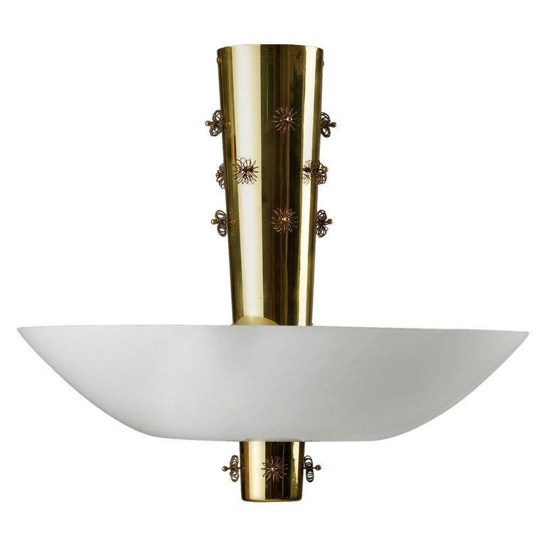Ceiling Lamp Designed by Paavo Tynell for Taito Oy, Finland, 1950s For Sale