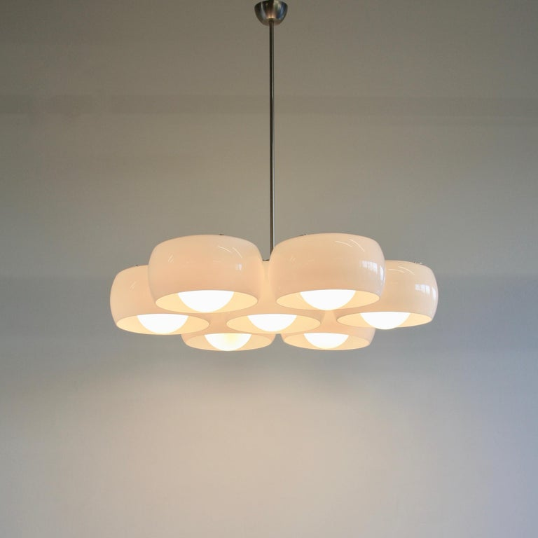 Modern Ceiling Lamp Eptaclinio Designed by Vico Magistretti for Artemide, 1961 For Sale