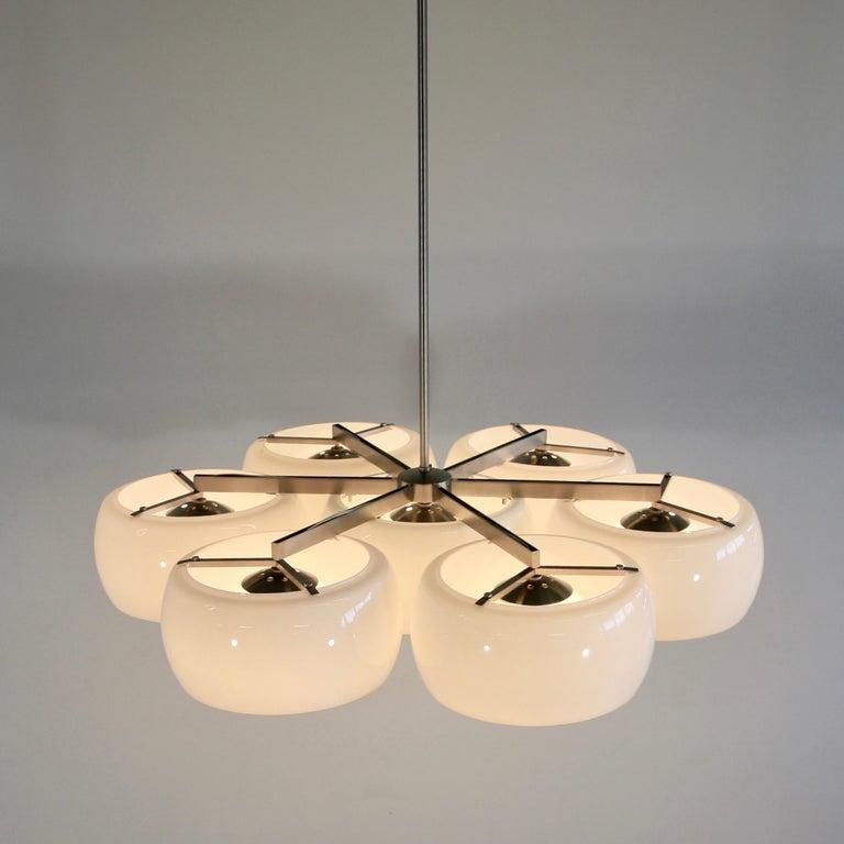 Italian Ceiling Lamp Eptaclinio Designed by Vico Magistretti for Artemide, 1961 For Sale