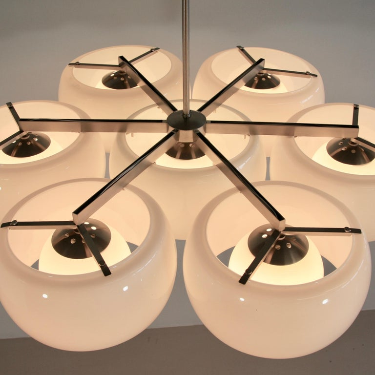 Ceiling Lamp Eptaclinio Designed by Vico Magistretti for Artemide, 1961 In Good Condition For Sale In Berlin, Berlin