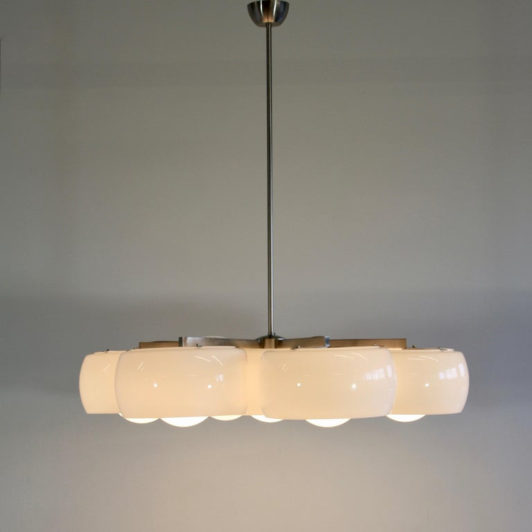 Ceiling Lamp Eptaclinio Designed by Vico Magistretti for Artemide, 1961 For Sale 1