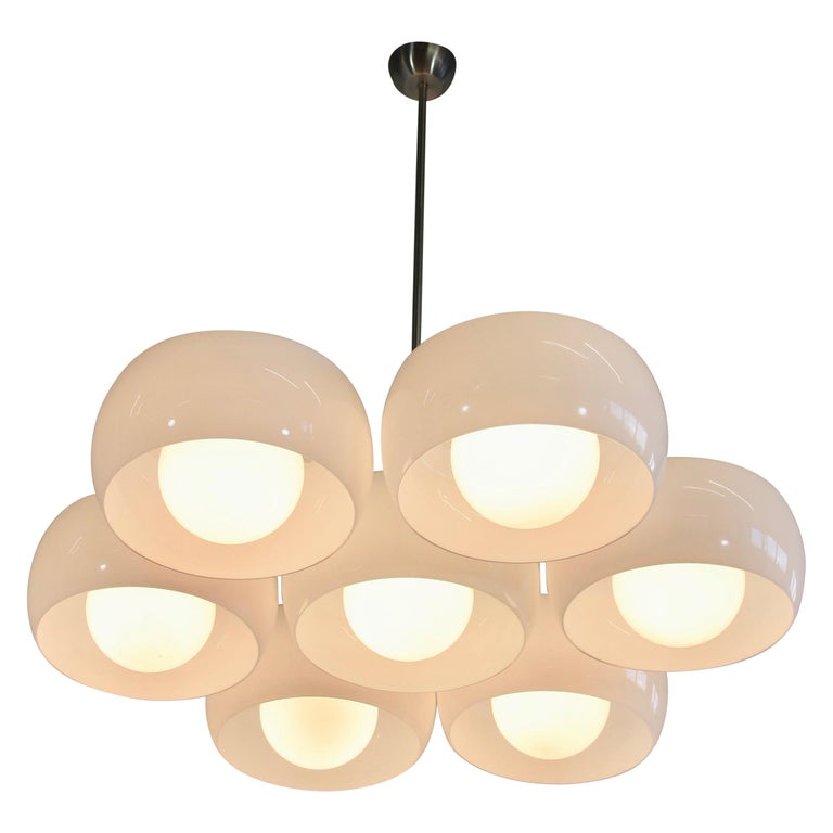 Ceiling Lamp Eptaclinio Designed by Vico Magistretti for Artemide, 1961 For Sale