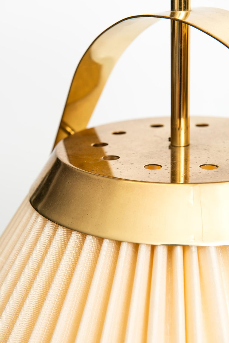 Swedish Ceiling Lamp in Brass Produced by Bergbom in Sweden For Sale