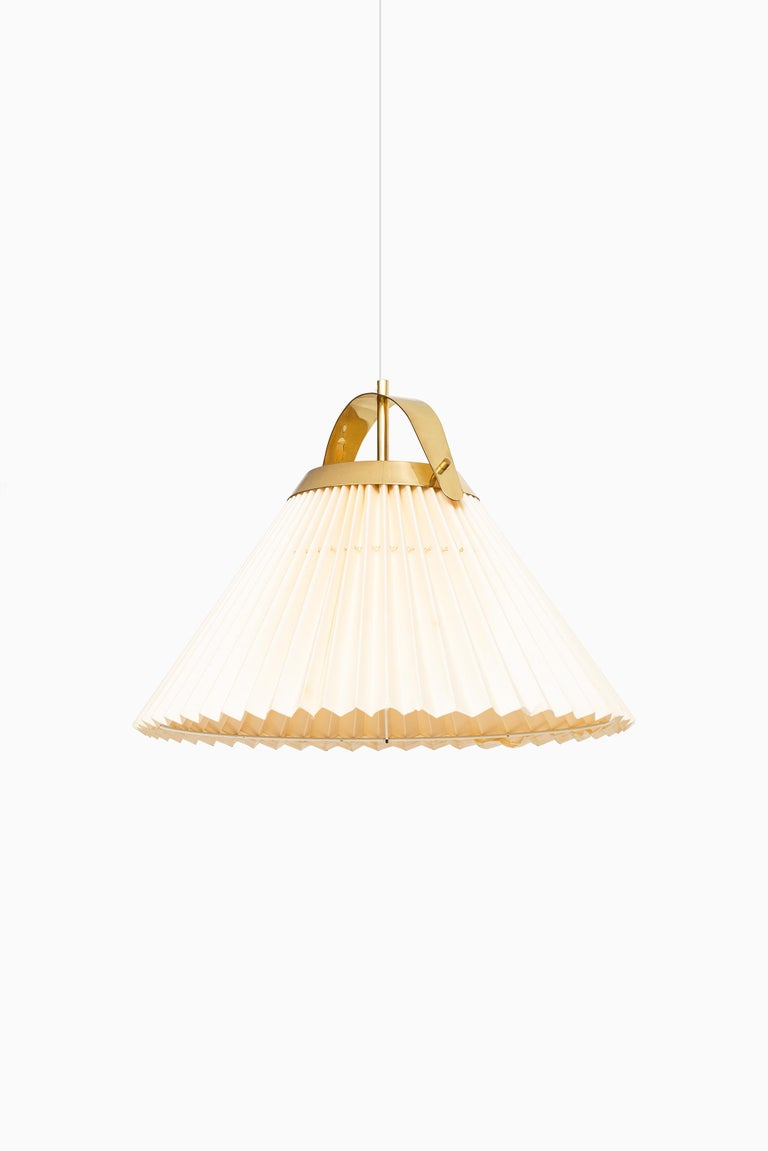 Ceiling Lamp in Brass Produced by Bergbom in Sweden In Good Condition For Sale In Malmo, SE