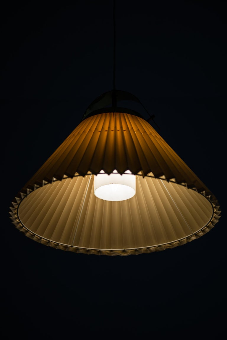 Ceiling Lamp in Brass Produced by Bergbom in Sweden For Sale 2