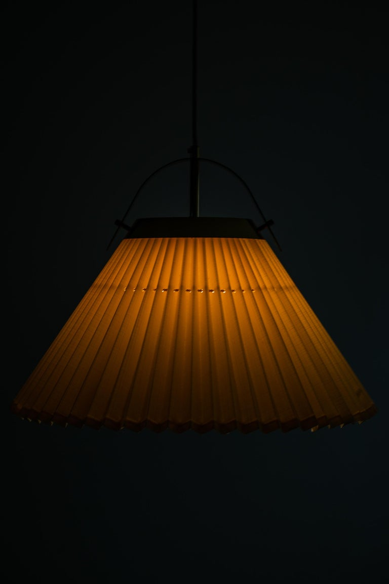 Ceiling Lamp in Brass Produced by Bergbom in Sweden For Sale 4