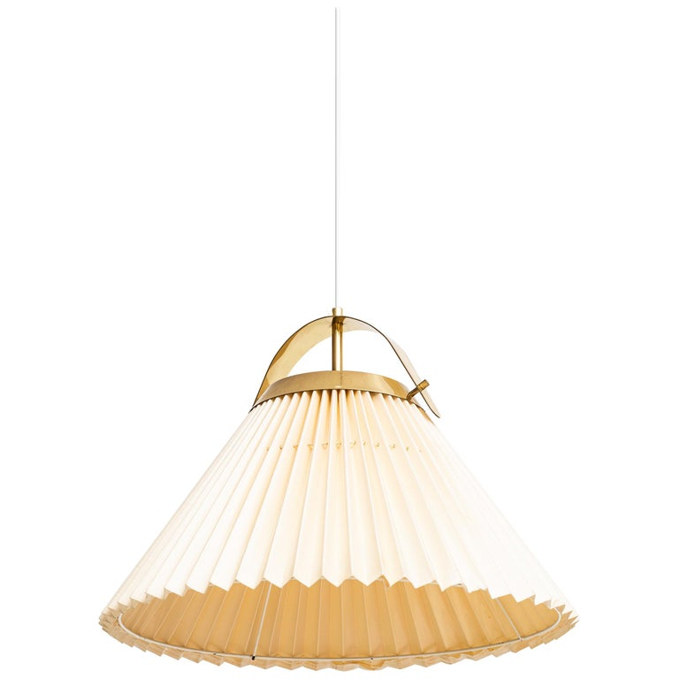 Ceiling Lamp in Brass Produced by Bergbom in Sweden For Sale