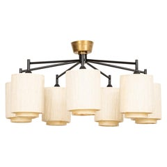 Ceiling Lamp or Flushmount Lamp Probably Produced in Sweden