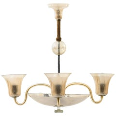 Ceiling Lamp Probably Produced in Italy