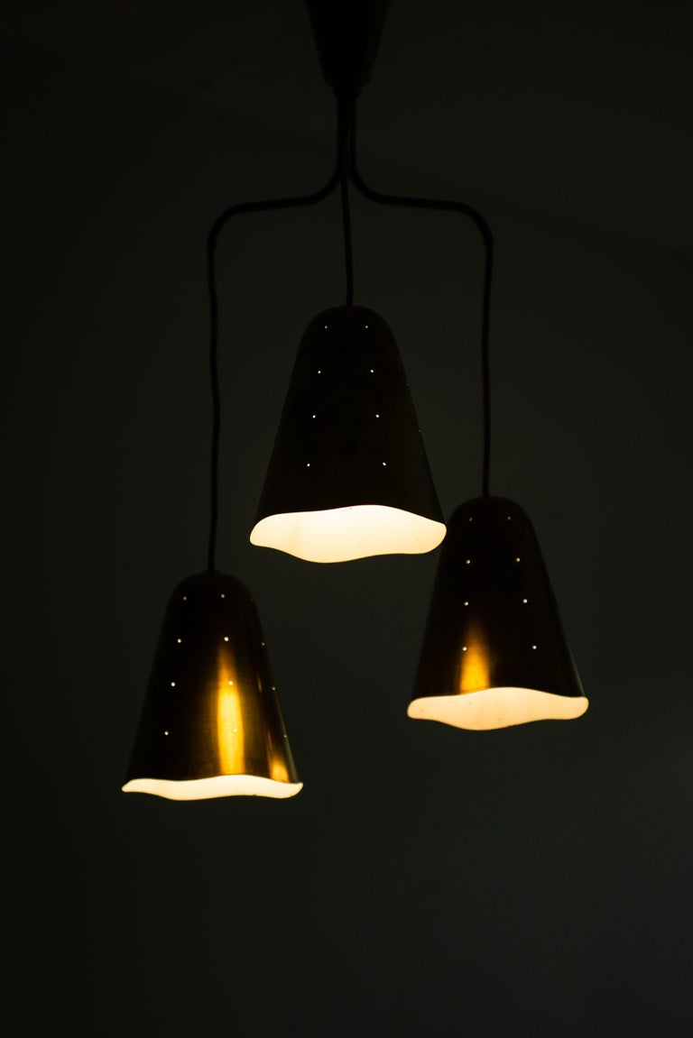 Scandinavian Modern Ceiling Lamp Probably Produced in Sweden For Sale