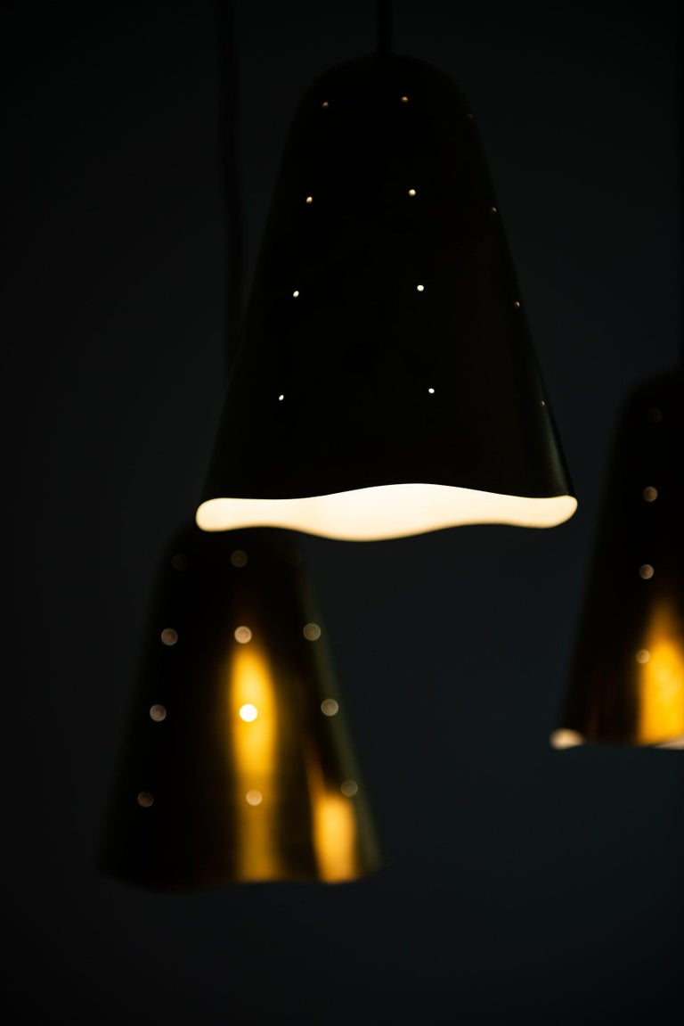 European Ceiling Lamp Probably Produced in Sweden For Sale