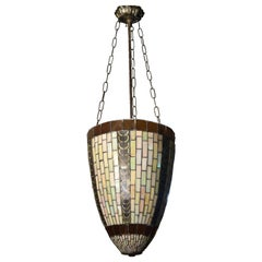 Ceiling Lamp with Mosaic, 20th Century