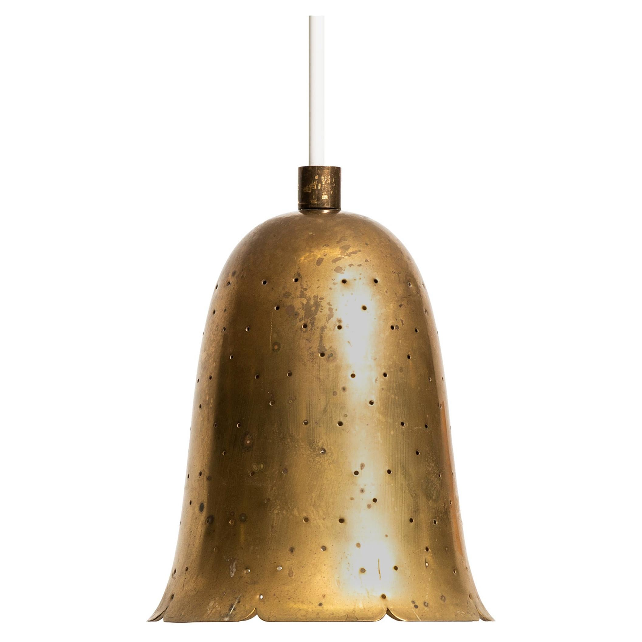 Ceiling Lamps in Brass Produced by Boréns in Sweden