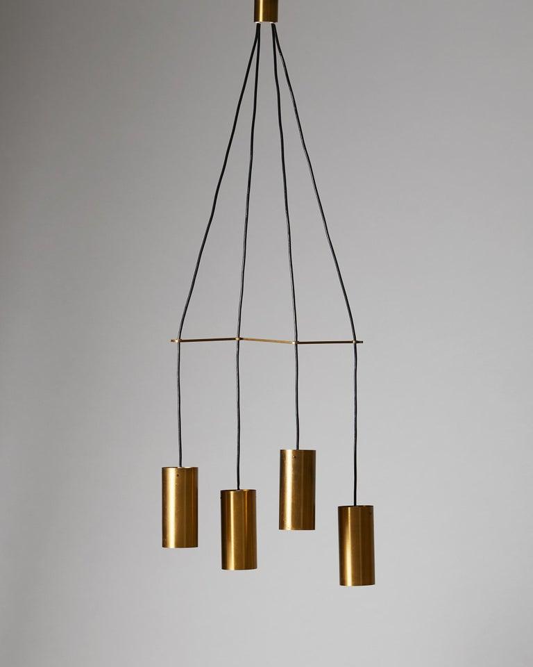 Brass. Measures: H 129 cm/ 4' 2 12/16
