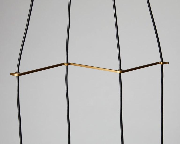 Scandinavian Modern Ceiling Light, Anonymous, Sweden, 1950s For Sale