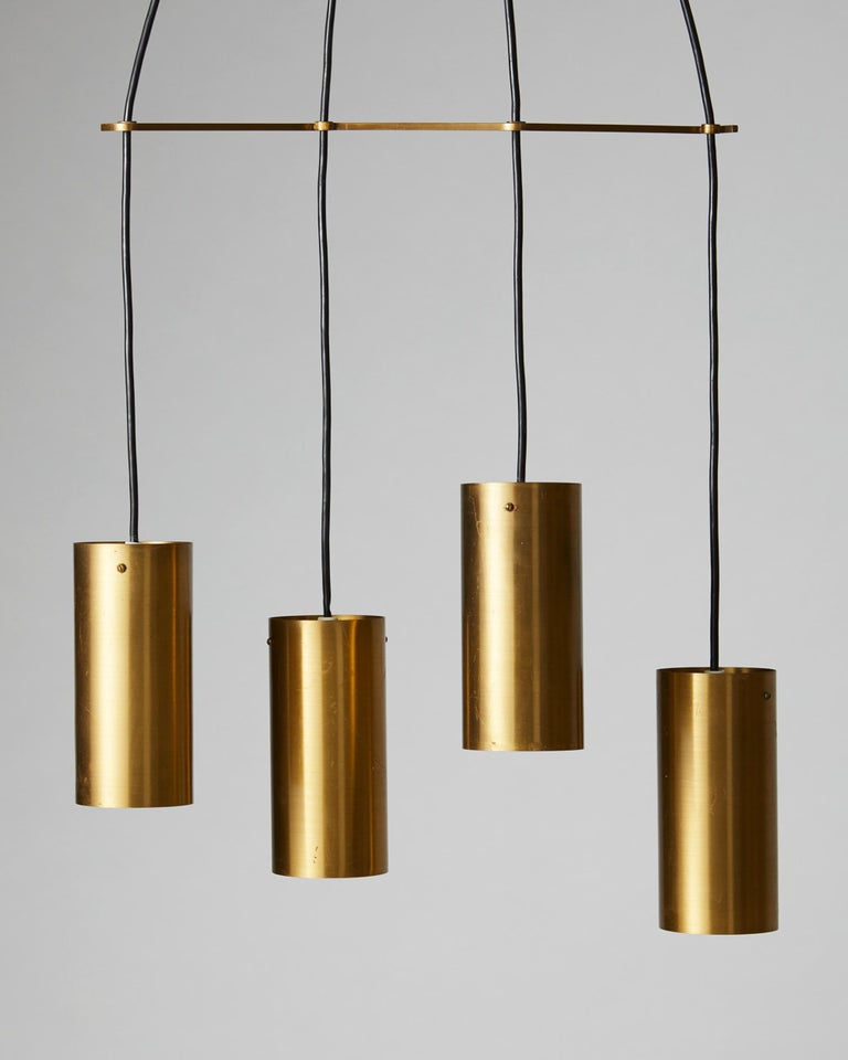 Swedish Ceiling Light, Anonymous, Sweden, 1950s For Sale