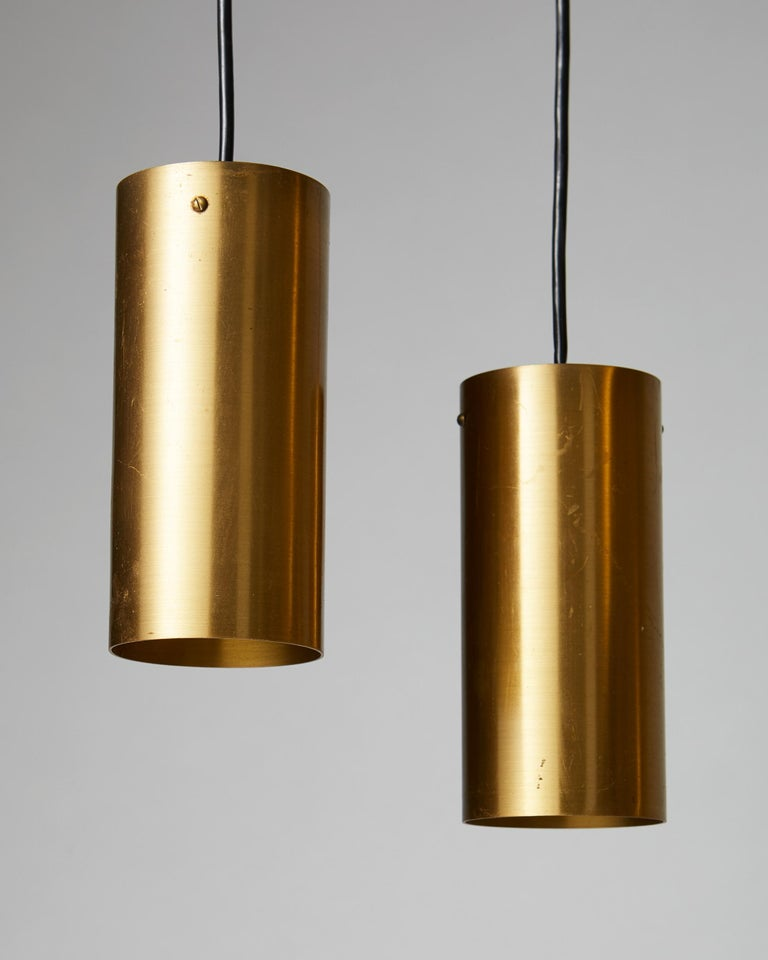 Mid-20th Century Ceiling Light, Anonymous, Sweden, 1950s For Sale