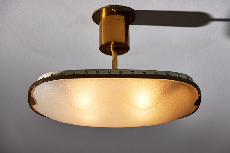 Ceiling Light by Fontana Arte In Good Condition In Los Angeles, CA