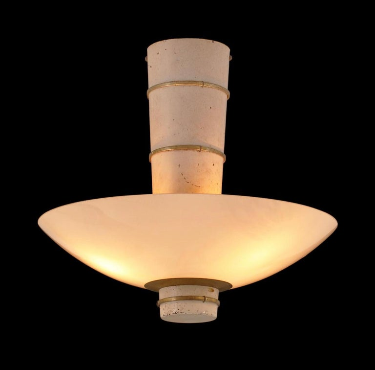 Finnish Ceiling Light by Paavo Tynell for Taito For Sale