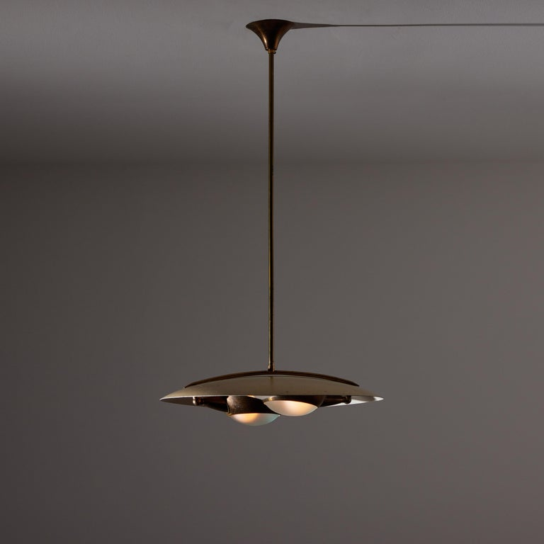 Ceiling Light by Stilnovo In Good Condition For Sale In Los Angeles, CA