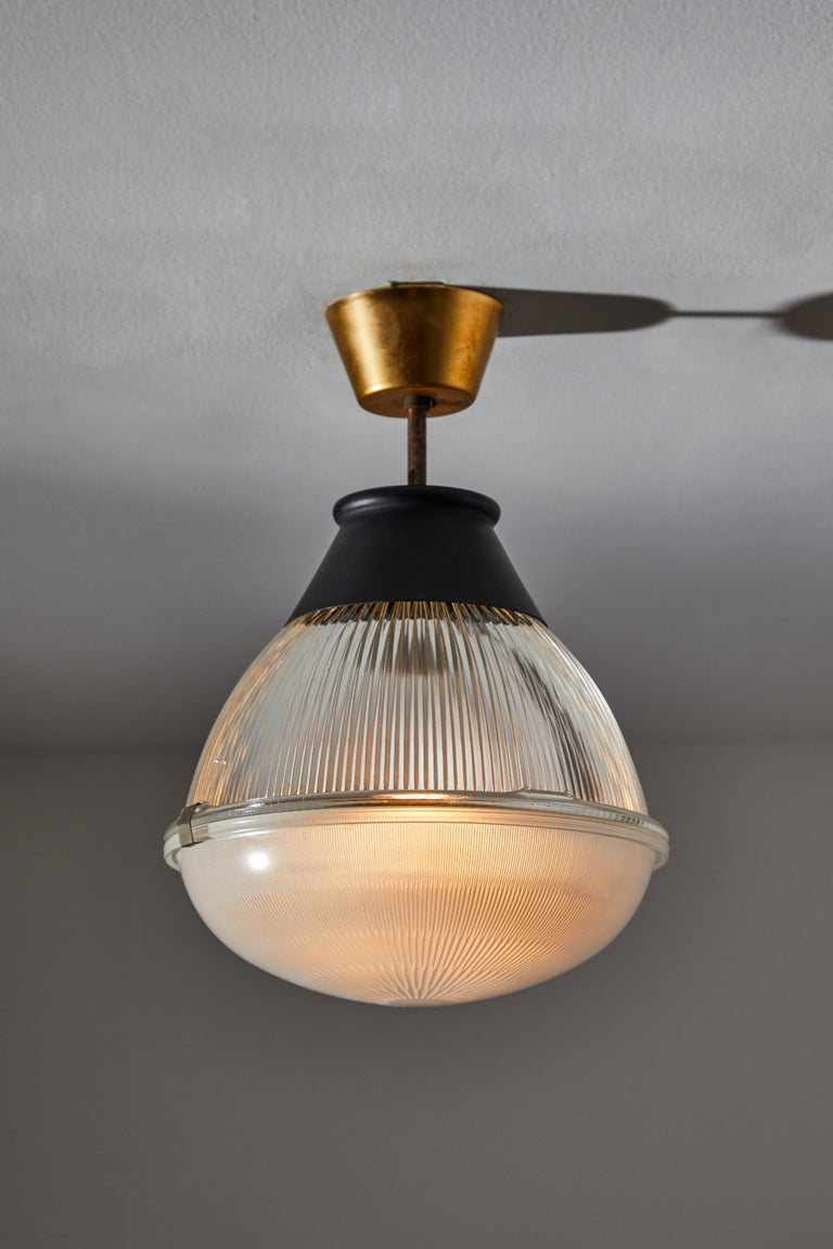 Mid-Century Modern Ceiling Light by Tito Agnoli for Oluce For Sale