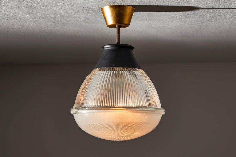 Ceiling Light by Tito Agnoli for Oluce In Good Condition For Sale In Los Angeles, CA