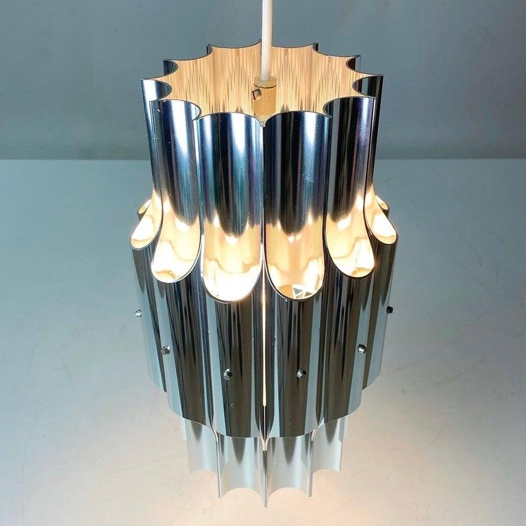 Danish Ceiling Light Pan by Bent Karlby for Lyfa, Denmark, 1960s For Sale