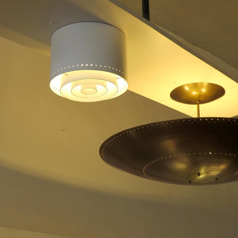 Mid-20th Century Ceiling Lights Model 'AE 97/25' by Itsu, 1960 For Sale
