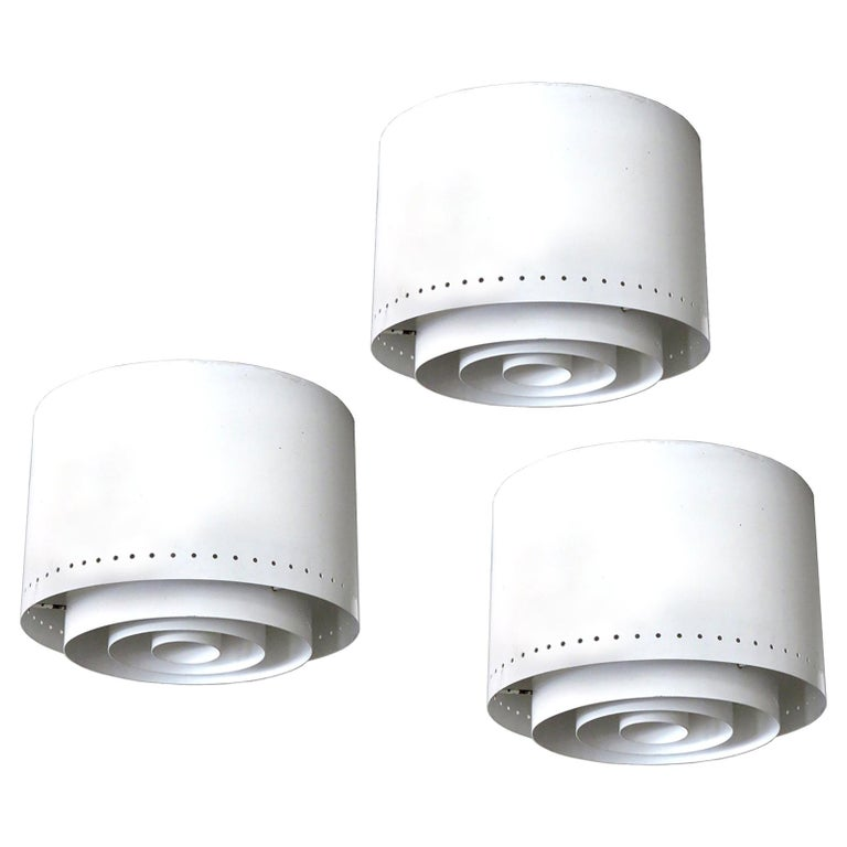 Ceiling Lights Model 'AE 97/25' by Itsu, 1960 For Sale