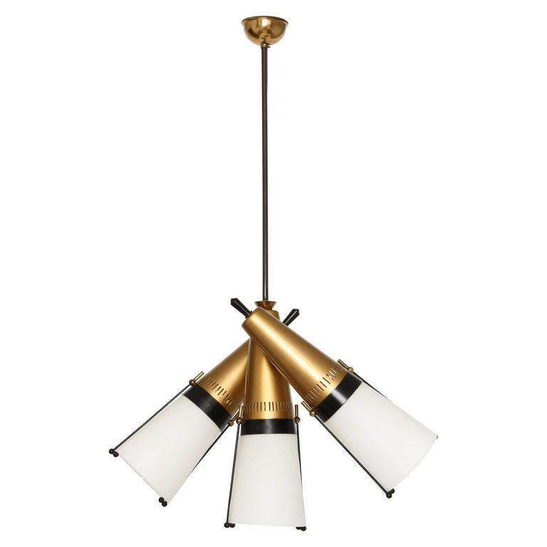Ceiling Pendant by Lamperti For Sale