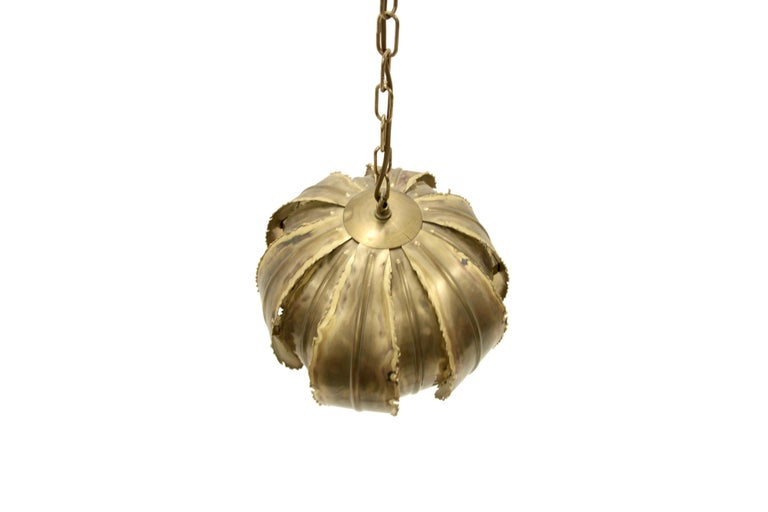 Ceiling Pendant 'Poppy' by Svend Aage Holm Sorensen, 1970s In Excellent Condition For Sale In Oslo, NO