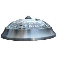 Ceiling Wall Light Aluminum Diamond Glass Lumi Milano Midcentury Italian Design