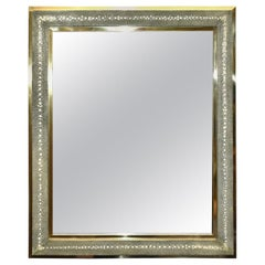 Celadon Shagreen Mirror