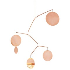 Céleste Copper Sculptural Kinetic Pendant